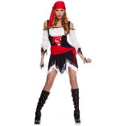 Pirate Vixen Adult Costume - Medium/Large