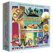 Munchkin Collectable Card Game Introductory Set Strategic Interactive Board Game Steve Jackson Games SJG4510