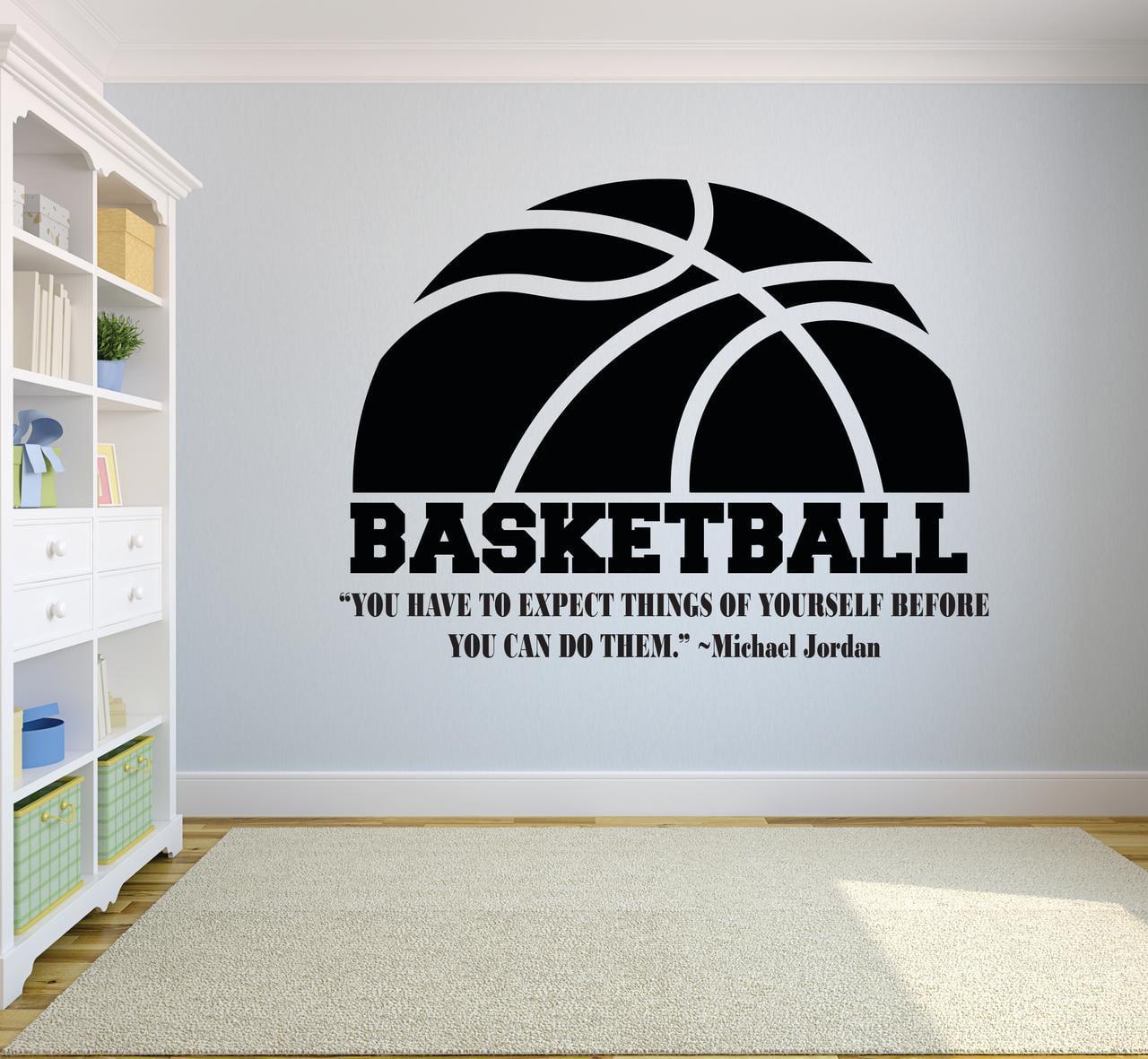 Basketball Life hobby Wall Decals boys girls room vinyl decoration high school