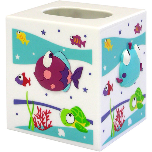 Something's Fishy Tissue Box