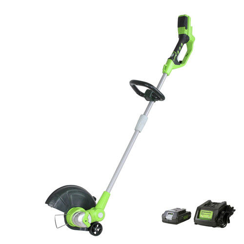 Greenworks 12-Inch 40V String Trimmer, 4Ah Battery and Charger Included ST40B410 by Sunrise Global Marketing, LLC