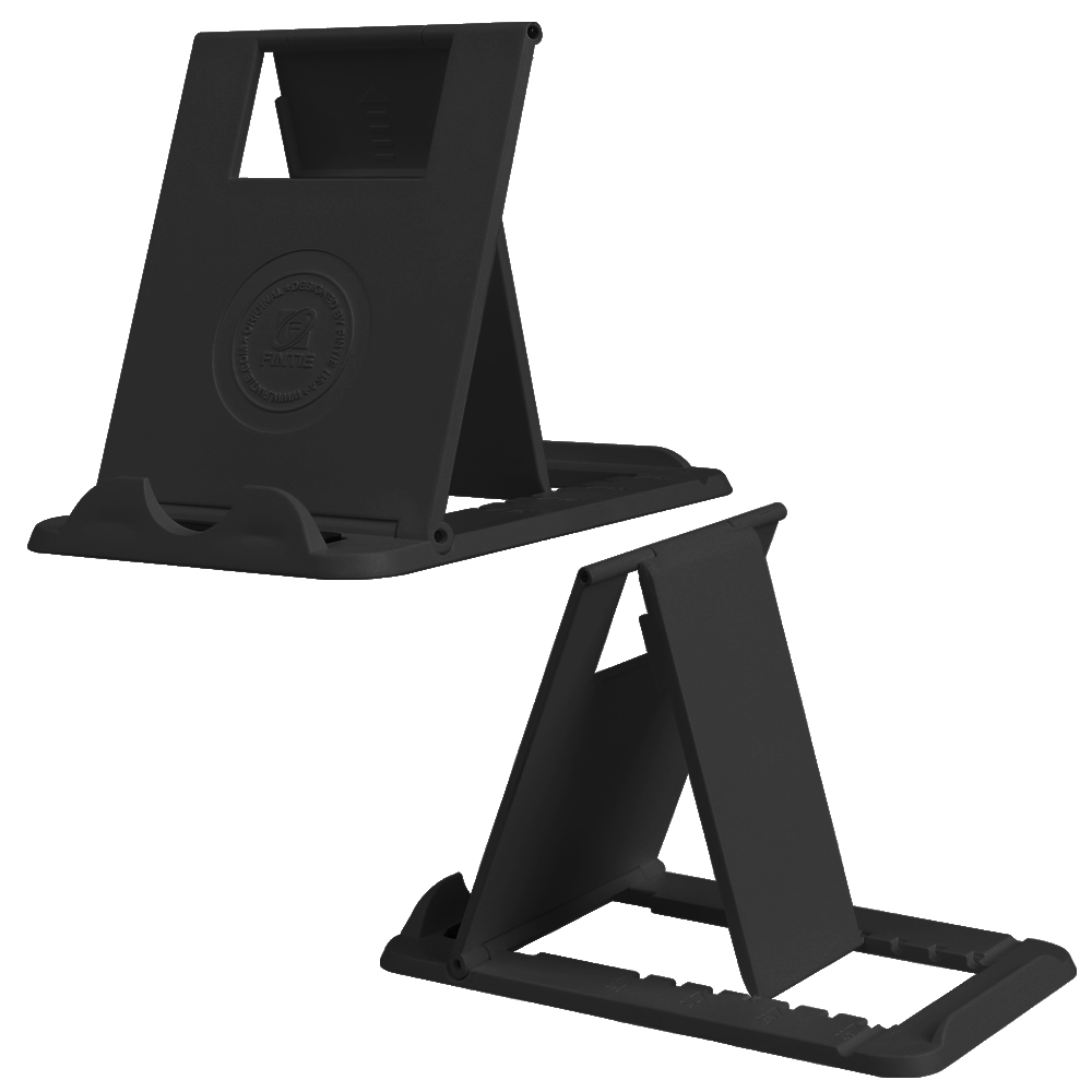 """Fintie Universal Tablet Cell Phone Stand - [Foldable] Multi Angle Desktop Holder for 4""""-10"""" Smartphones and Tablets"""