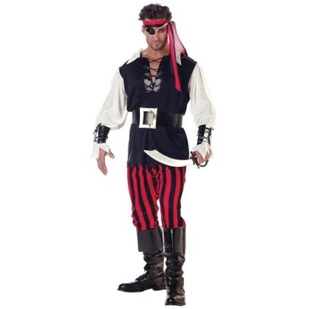 Morris Costumes CC01318MD Cutthroat Pirate Adult Med - image 1 of 1
