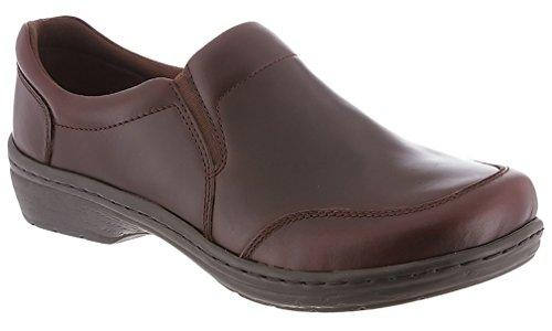 Klogs Arbor Men's Leather Professional Clog Mahogany Smooth by Latitudes Inc.