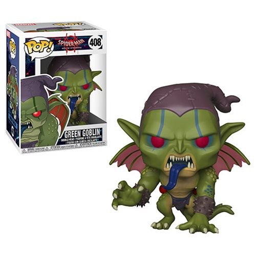 Spider-Man: Into Spider-Verse Green Goblin Pop! Vinyl (Number of Pieces per case: 6)