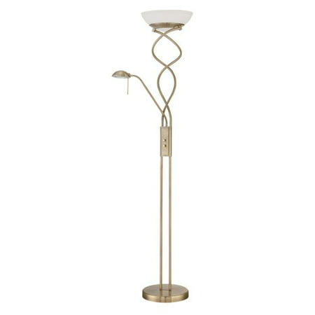 - Kendal Lighting Twist + 72'' Torchiere Floor Lamp