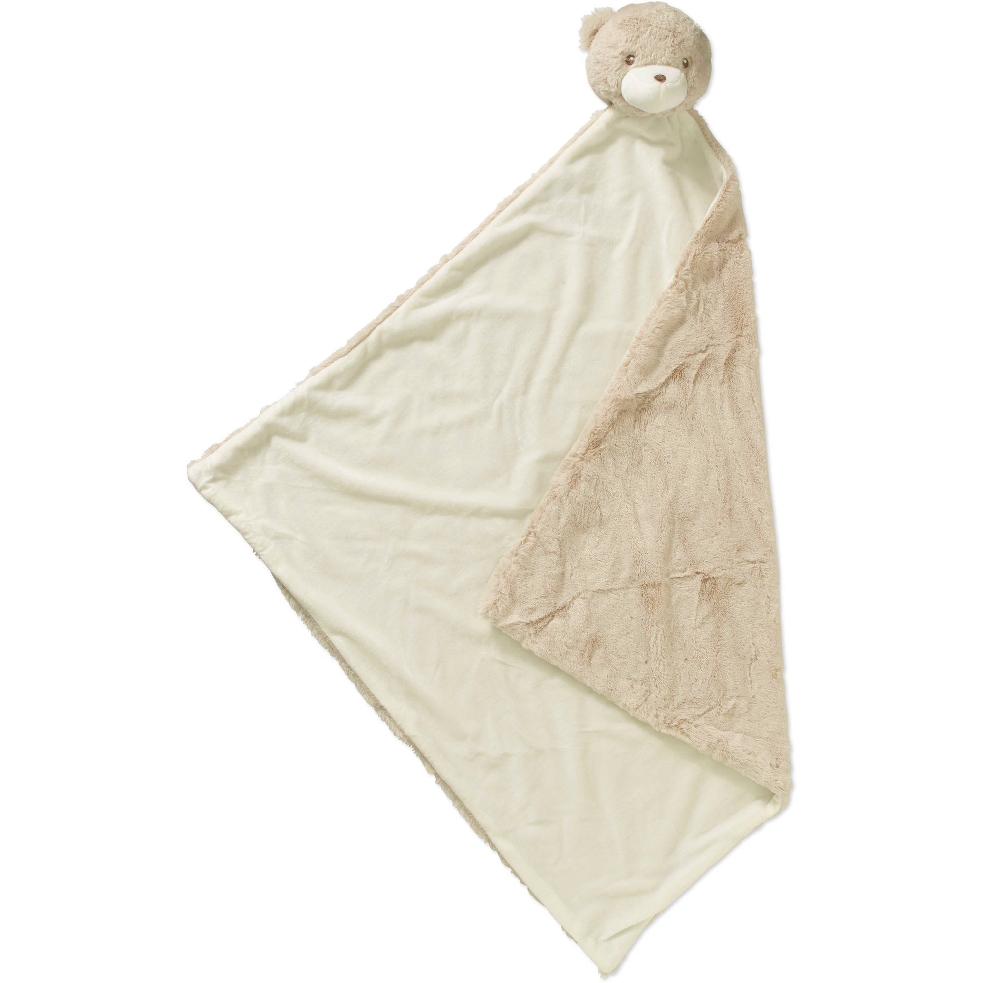 Quiltex Newborn Baby Plush Bear Security Blanket