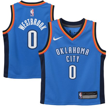 Russell Westbrook Oklahoma City Thunder Nike Toddler Replica Jersey Blue - Icon - Russell Westbrook Halloween