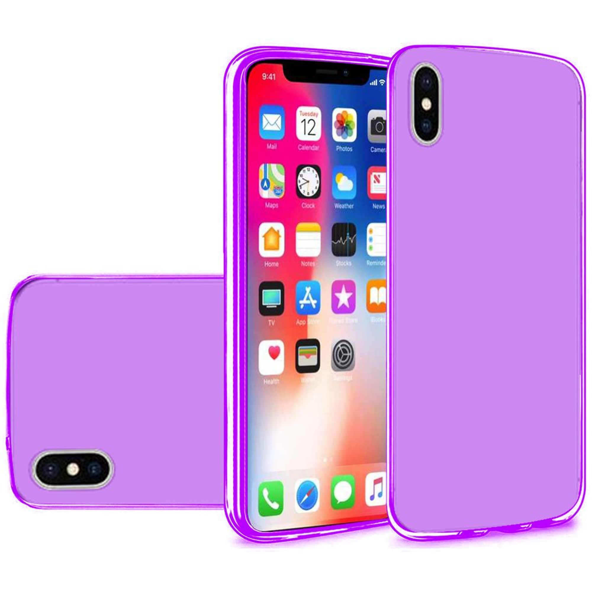 iPhone X XS Fashion Case, iPhone X XS Case, by Insten TPU Gel Case Cover For Apple iPhone X XS