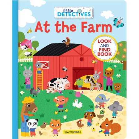 Little Detectives at the Farm: A Look and Find Book (Board Book) ()