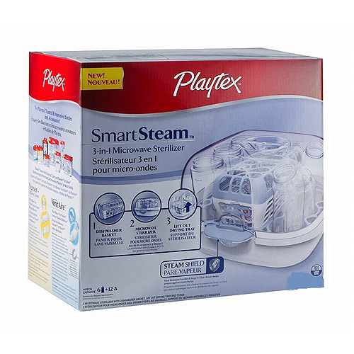 Playtex SmartSteam 3-in-1 Microwave Sterilizer