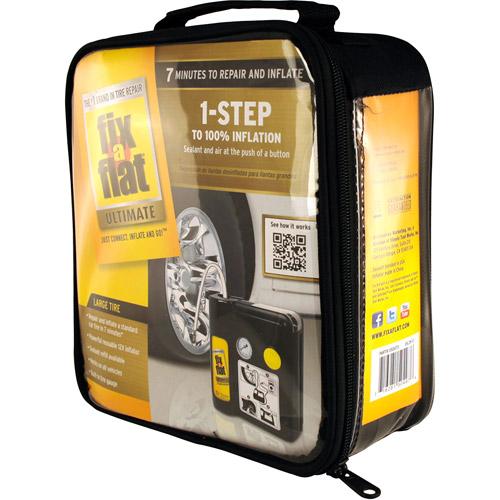 Fix A Flat Ultimate 1 Step Flat Tire Repair Kit Walmart Com
