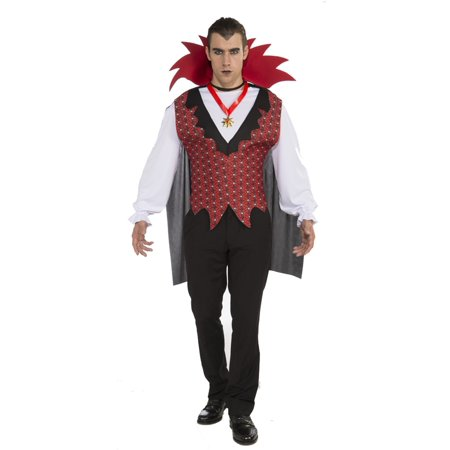 TRANSYLVANIAN VAMPIRE ADULT MENS COSTUME - Men Vampire Costumes