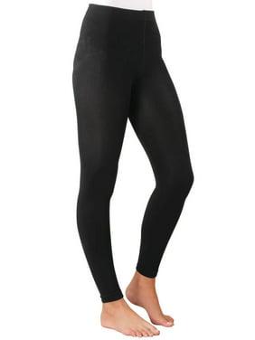 d7f447160e0f7 Product Image Fleece Lined Leggings by Sawyer Creek, Queen, Black