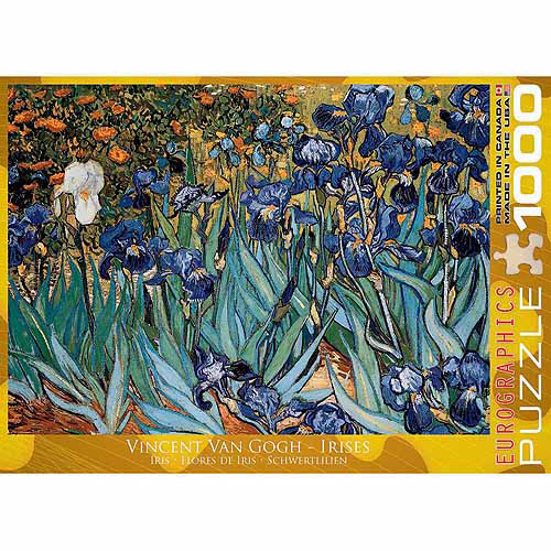 EuroGraphics Irises by Vincent Van Gogh 1000-Piece Puzzle