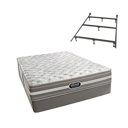 salem twin size extra firm mattress and standard box spring set with frame beautyrest recharge. Black Bedroom Furniture Sets. Home Design Ideas