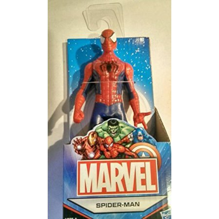 Marvel Universe Avengers 6' (Approximate Size) All Star Spider-Man Action Figure Australian Release - Spiderman Action Figures Walmart