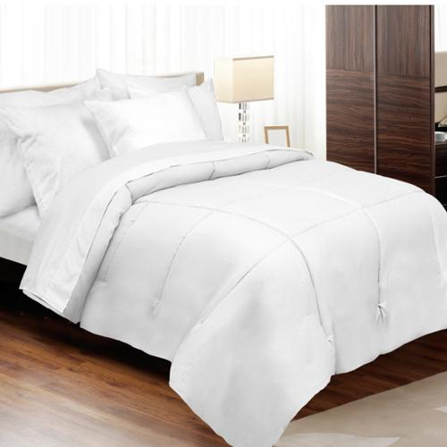 Grand Luxe 1200 Thread Count Egyptian Cotton Down Alternative Comforter Twin XL - White