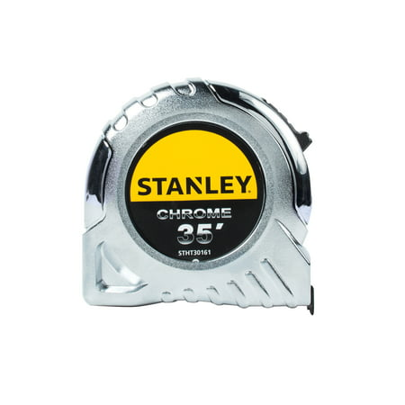 Stanley Bostitch Long Tape Measure - STANLEY STHT30161W 35' Chrome Tape Measure