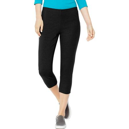 (Women's Stretch Jersey Capri)