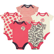 Hudson Baby Newborn Baby Girls Bodysuit