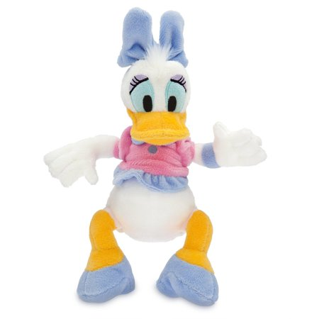 Disney Store Daisy Duck Mini Bean Bag Plush 9 inc New with Tag
