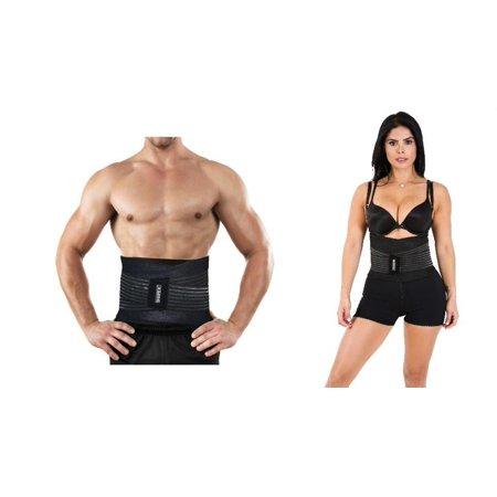 Shapex Fitness Training Ceinture de soutien au bas du dos permet une bonne levée pour les hommes Noir