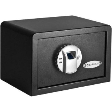 Barska Ax11620 Compact Biometric Gun Safe - Fingerprint, Key Lock Bolt[s] - 7.8