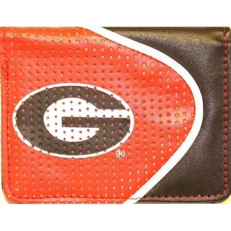 - NCAA Officially Licensed Faux Leather Zipper Wallet