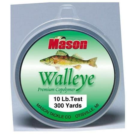 Mason Tackle Company WL-300-15 Walleye Premium Co-Polymer - 15 lb. ()