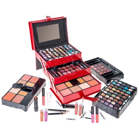 SHANY All In One Makeup Kit (Eyeshadow, Blushes, Powder, Lipstick & More) Holiday - Boys Makeup Kit