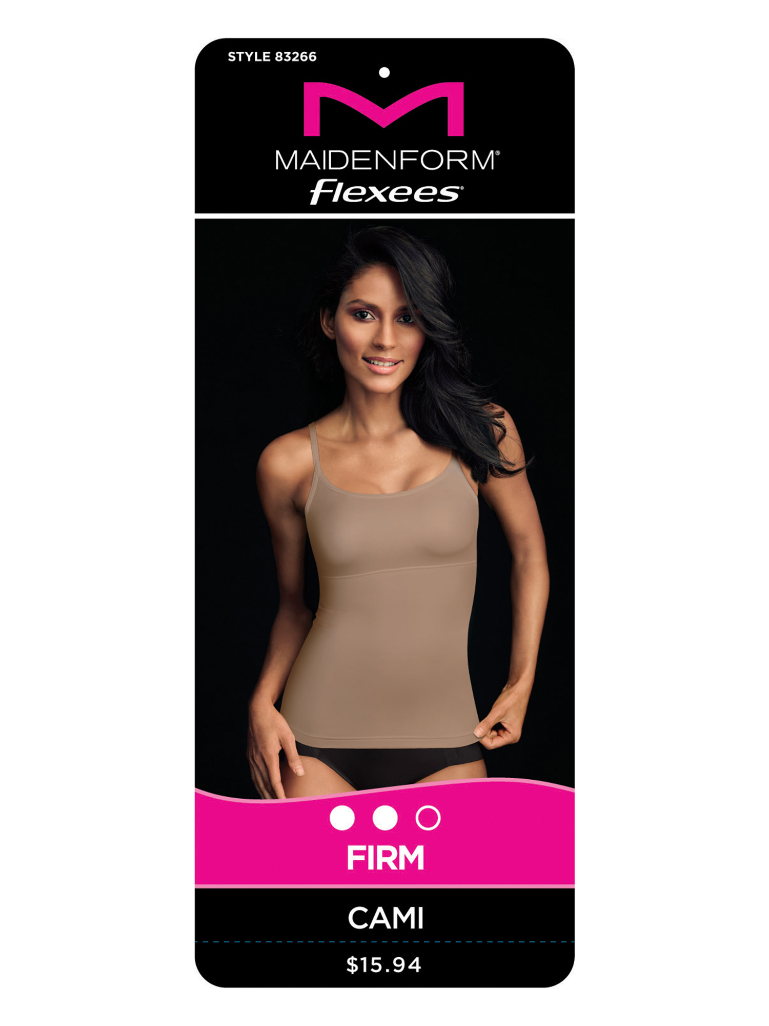 8445963a94c Flexees by Maidenform - Firm Control Shaping Cami - Walmart.com
