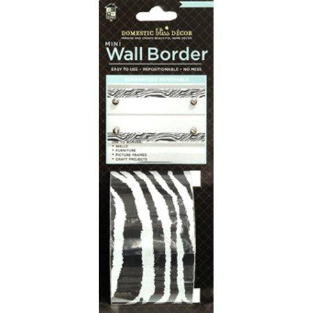 Zebra print wall decor for Zebra room decor walmart