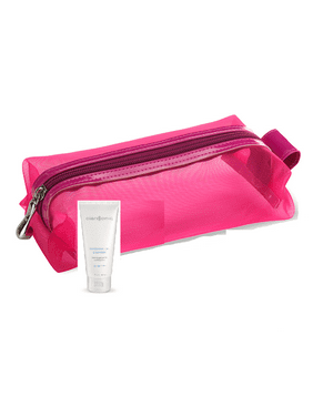 Clarisonic Pink Travel Bag and Refreshing Gel Cleanser 1 oz