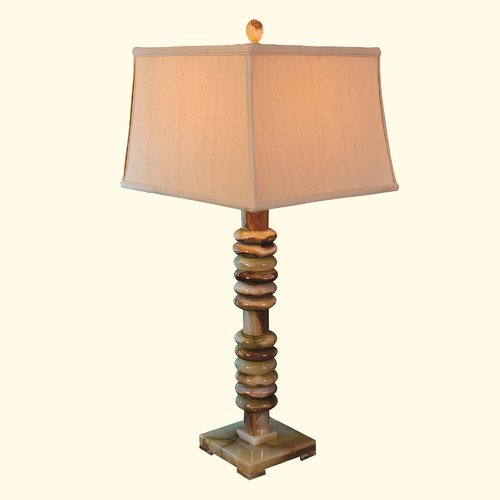 Rembrandt Home Chartreuse Marble 33 Table Lamp Walmart Com Walmart Com