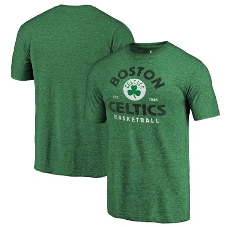 info for 95b76 08ee3 Boston Celtics Fanatics Branded Vintage Arch Tri-Blend T-Shirt - Kelly Green