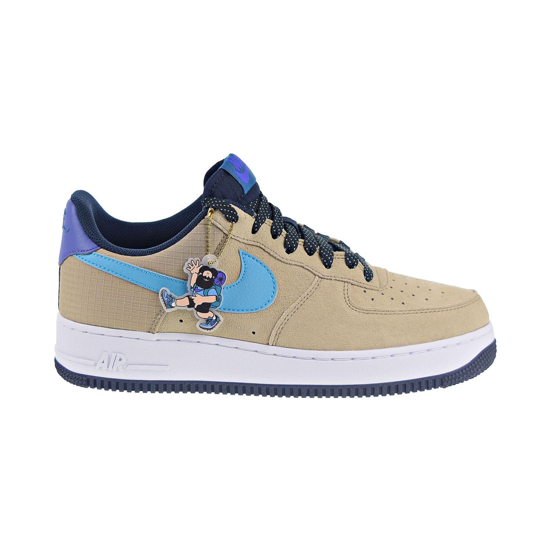 Nike - Nike Air Force 1 '07 LV8 2 Men's Shoes Khaki-Blue Fury-Persian  Violet cd0887-201 - Walmart.com
