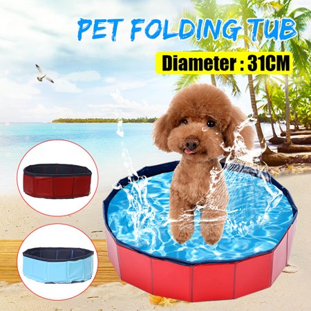 Portable Foldable Pet Bath Dog Swimming Pool Paddling Pool Puppy Bathtub Bathing - image 8 of 8