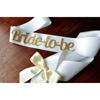Bride to Be Sash. Ships in 1-3 Business Days. Bachelorette Party Sash.