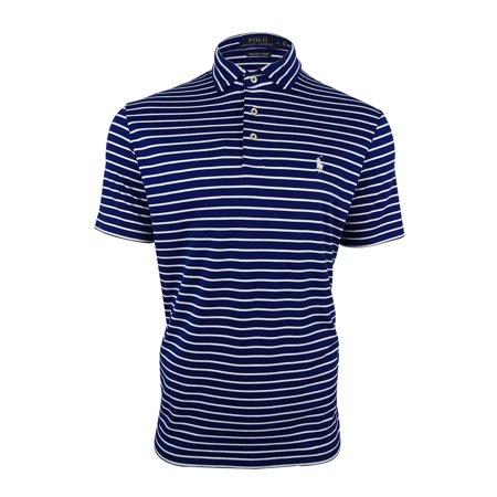 Touch Men's Lauren Striped Shirt Soft Polo Ralph Pima hrdsCxtQB