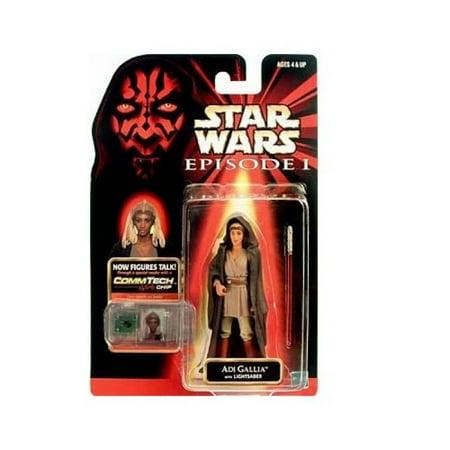 (Star Wars Episode I Basic Figure Collection III Adi Gallia)
