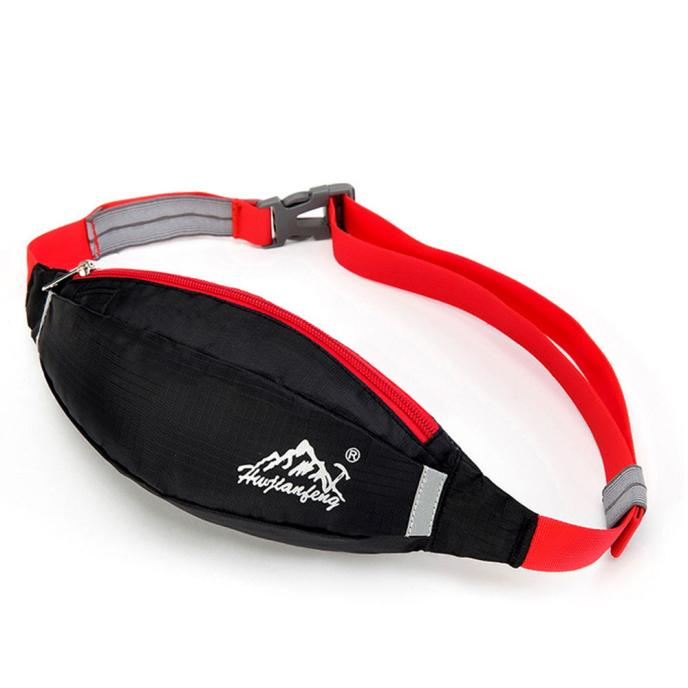 Green Steam Train 1 Sport Waist Bag Fanny Pack Adjustable For Hike