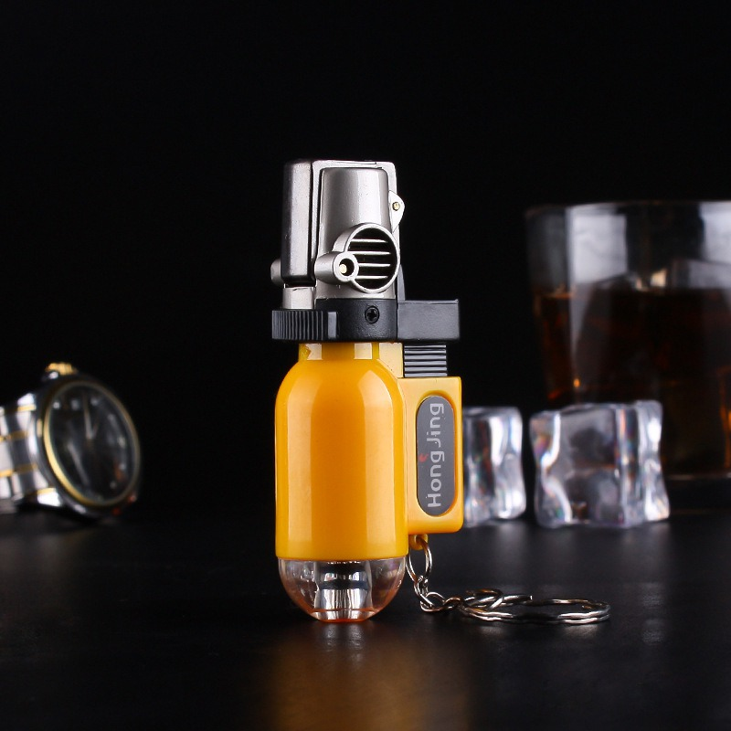 Cool Spray Gun Lighter for Man Cigarette Stylish and Potable Color Random
