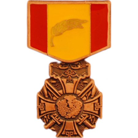 """Vietnam Gallantry Cross Medal Pin 1 3/16"""""""