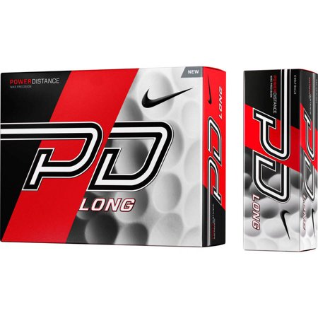 Nike PD9 Long Golf Ball Nike PD9 Long Golf Ball: Nike has distance on their mind with the new Nike Power Distance Long that gives you the ultimate advantage off the teeIts high velocity core and 314 dimple aerodynamics help create a faster speed with reduced spin for maximum distance