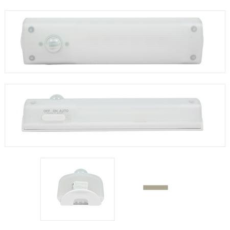 Détection Mouvement PIR Batterie Rechargeable 10 LED Lumière Penderie Cabinet des escaliers - image 6 de 8