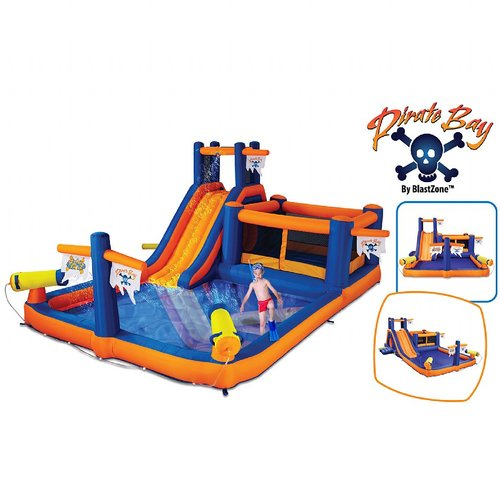 Blast Zone Pirate Bay Waterslide by Vortex