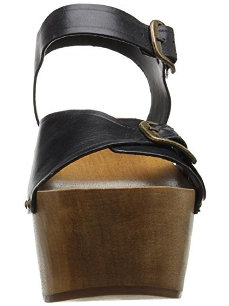 Kelsi Dagger Womens Wen Leather Casual Platforms