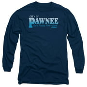 Comedy NBC TV Series Pawnee Adult Long Sleeve T-Shirt