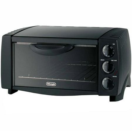 Delonghi 6 Slice Toaster Oven Black Eo Walmart Com